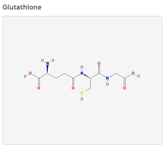 глутатион формула
